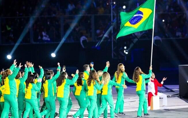 Delegação brasileira participa da abertura dos Jogos Pan-Americanos de Lima na sexta-feira (26)