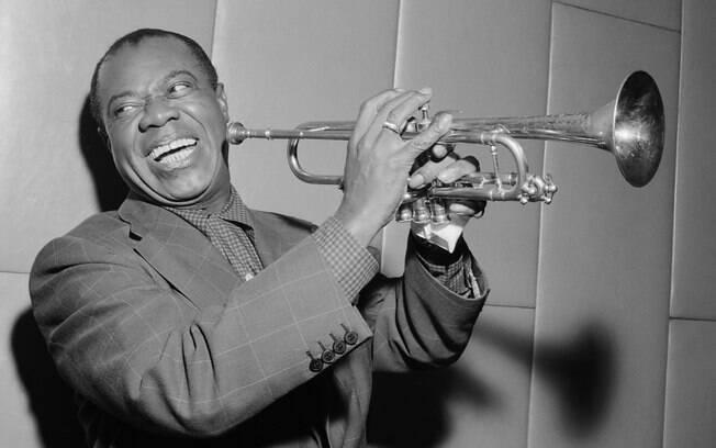 Louis Armstrong é um dos maiores nomes da história do jazz