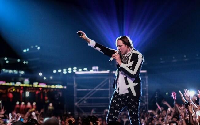 Arcade Fire fez show no Lollapalooza Brasil em 2014; veja outros shows históricos