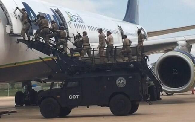 Polcia Federal realiza treinamento no Aeroporto de Viracopos