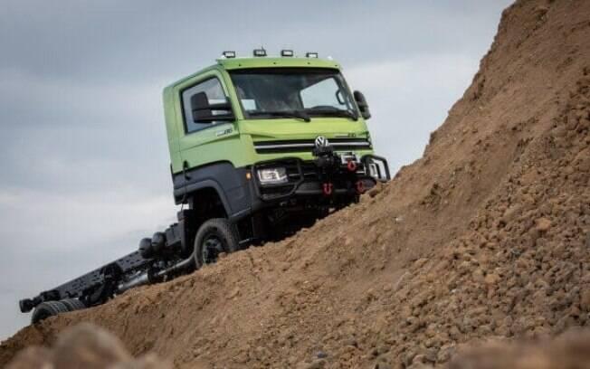 VW Delivery 4x4: tração integral e vários itens exclusivos para enfrentar trabalho duro em terrenos acidentados