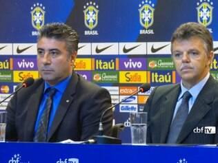 Alexandre Gallo e Gilmar Rinaldi são os novos coordenadores anunciados por José maria Marin