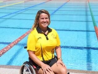 Verônica, além de ser atleta, ministra palestras dando exemplo de motivação e superação