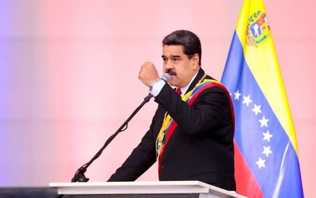 Nicolás Maduro respondeu críticas feitas por Donald Trump