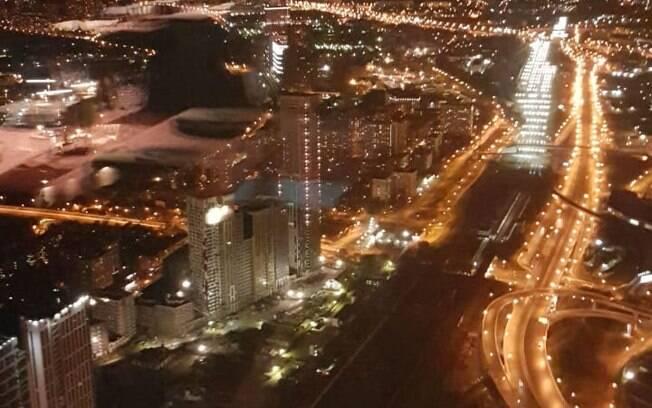 Vista panorâmica da cidade é um dos atrativos do Insight