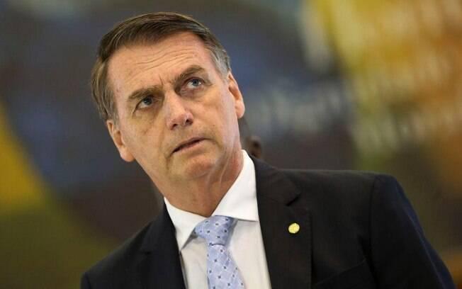 O presidente Jair Bolsonaro (PSL) disse, no domingo (17), que ainda aguarda a versão de reforma da Previdência para os militares