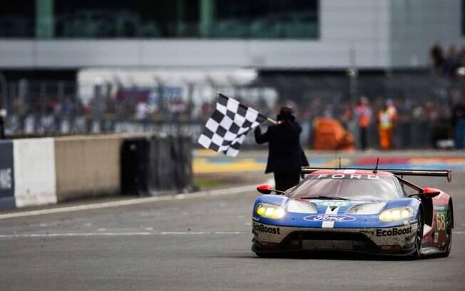 Apesar da briga entre Ford e Ferrari quanto a quebra no regulamento, o Ford GT continua a ser o vencedor da categoria LMGTE Pro.