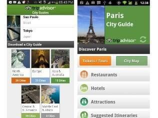 City Guide, do Trip Advisor, ganha versão em português e está disponível para Android e iOS