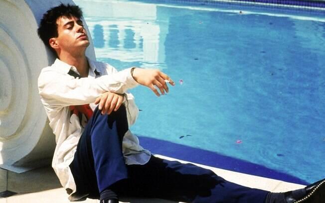 Robert Downey Jr em 'Abaixo de Zero' (1987). Foto: Divulgação