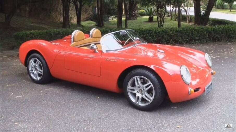 Chamonix 550 Spyder era réplica do Porsche 550; tinha motor 2.0 da Volkswagen