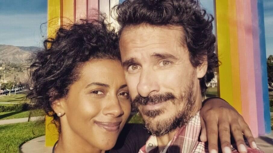 Aline Midlej e Rodrigo Cebrian