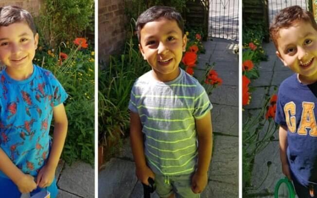 A Scotland Yard emitiu um alerta urgente para encontrar Bilal, Momammed Ebrar e Mohammed Yassen Safi