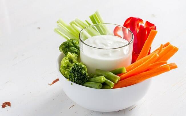 Palito de legumes é outro curinga na alimentação saudável
