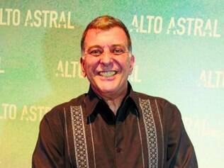 Jorge Fernando esbanjou bom humor no lançamento da trama