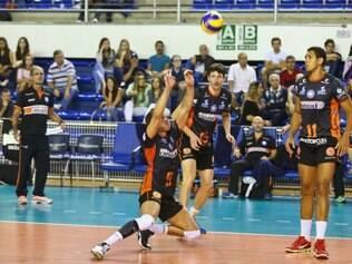 Superliga masculina de vôlei jogo pela quinta rodada no Minas Tênis Clube