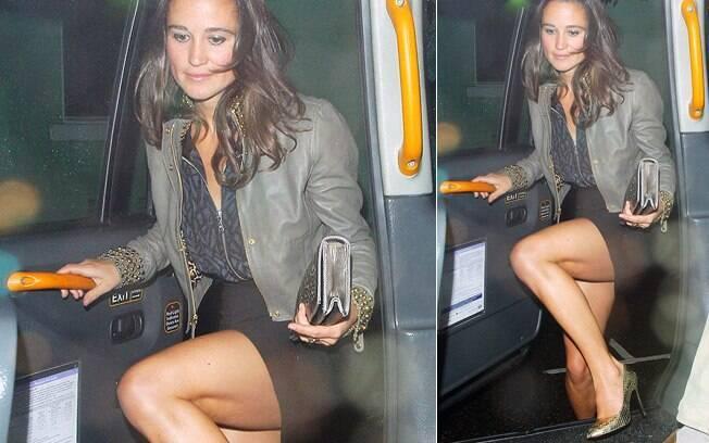 Pippa Middleton é fotografada deixando balada em Londres