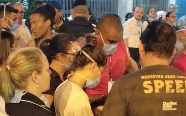 Conselho de enfermagem denunciou que hospital não quer detalhar quantos profissionais foram internados