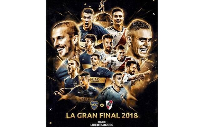 Primeiro jogo entre Boca Juniors e River Plate pela final da Libertadores será na La Bombonera, no sábado
