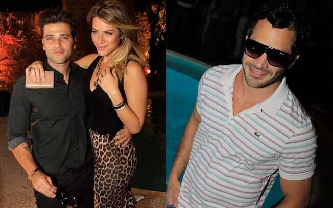 Giovanna, Bruno e Malvino: festa à beira da piscina em hotel boutique carioca