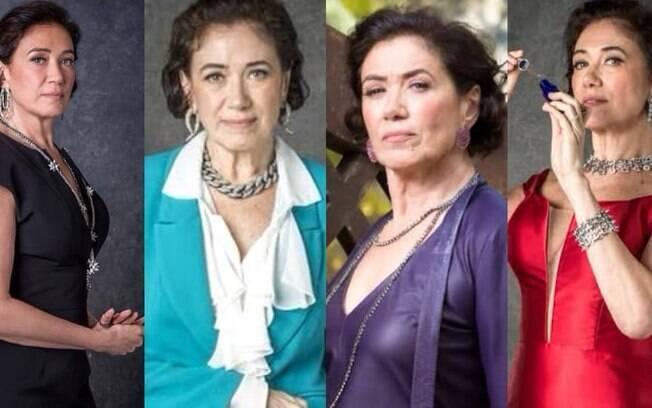 Com um estilo que permite avaliar conforto, elegância e sofisticação, Lília Cabral se destaca como  Valentina Marsalla