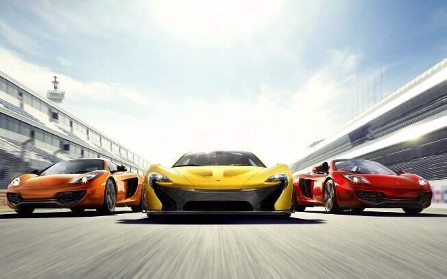 Supercarros da McLaren estão entre os mais velozes de cobiçados do mundo hoje em dia com tecnologia vinda nas pistas
