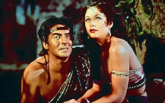 'Sansão e Dalila', de Cecil B. DeMille, foi lançado em 1949. Foto: Divulgação