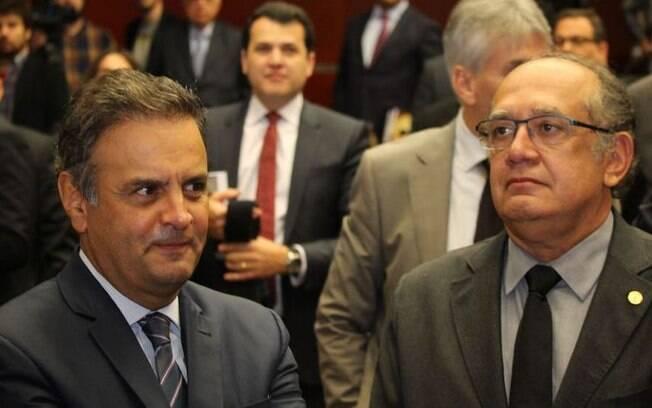 Gilmar Mendes vai relatar mais um inquérito contra Aécio Neves no Supremo Tribunal Federal