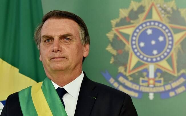 Presidente brasileiro Jair Bolsonaro (PSL) foi avaliado com menos preocupação no no