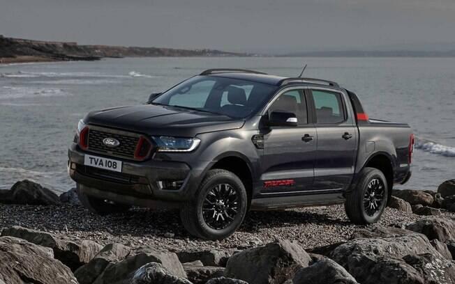 Ford Ranger Thunder: Picape é equivalente à versão Storm da Ranger vendida no Brasil, mas com mais esportividade