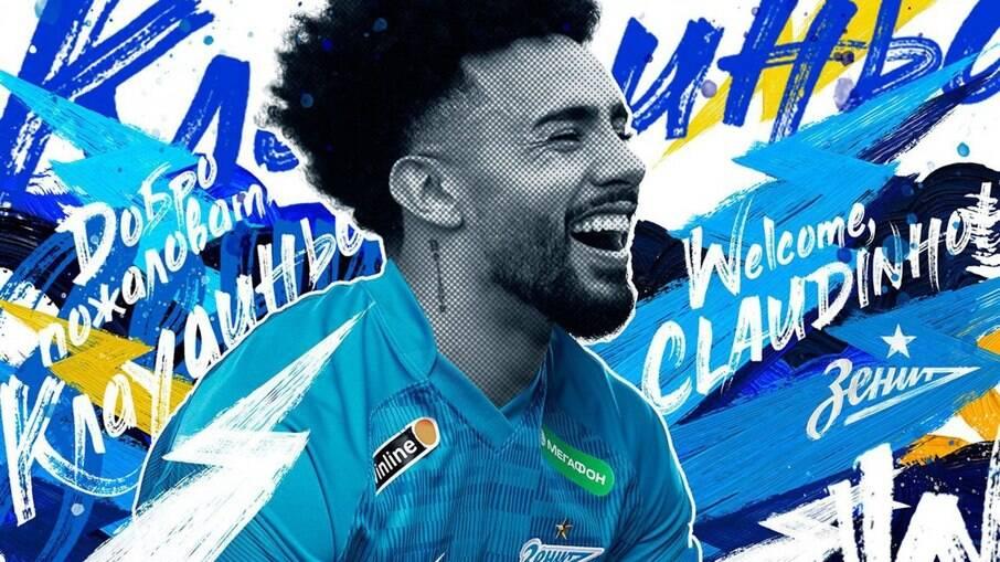 Campeão olímpico, Claudinho é anunciado pelo Zenit