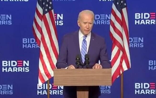 Biden: 'Vou governar como o presidente dos americanos'