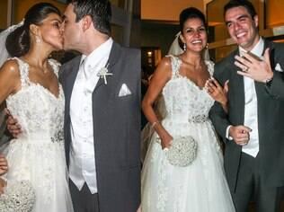 Daniel Saulo e Mariana Felício se casam no interior de São Paulo