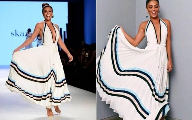 Com roupas elegantes e acessórios poderosos, dignos de muita atenção, elas mostraram as melhores tendências da moda durante a semana