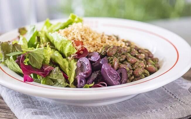 Salada feijão maravilha, do Gula Gula