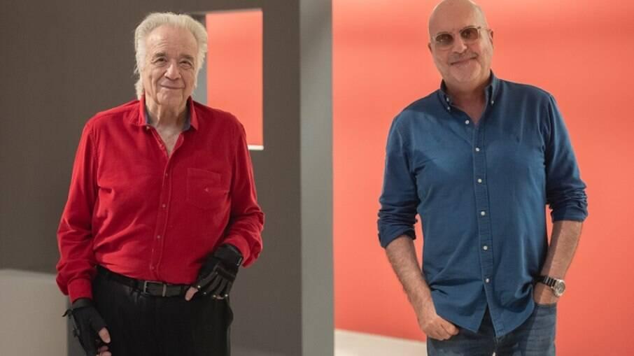 Maestro João Carlos Martins e Jorge Takla