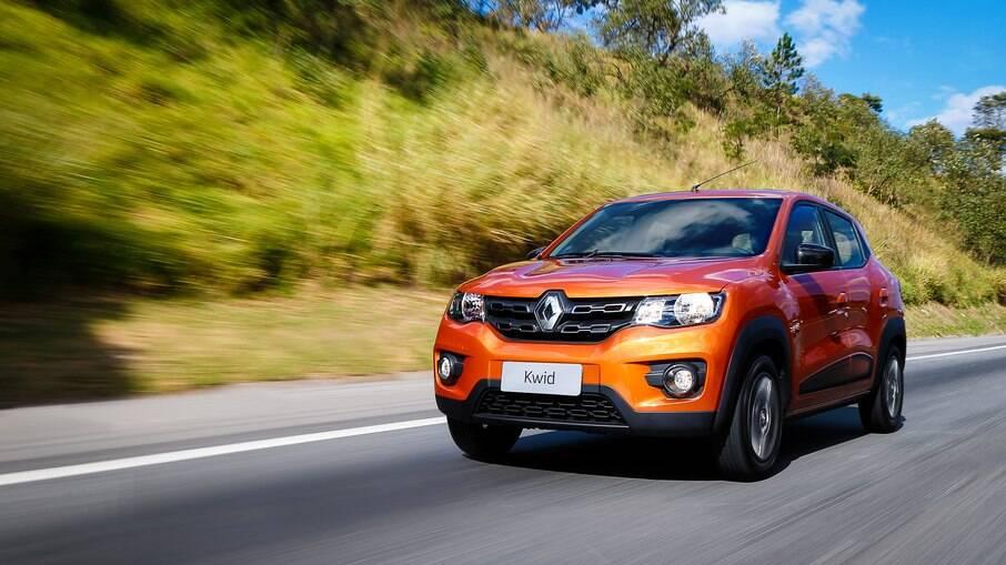 Renault Kwid tem os valores mais em conta em todos os estados, de acordo com o levantamento da Minuto Seguros