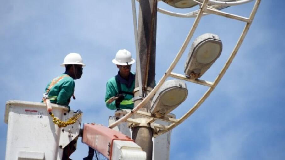 Valor das parcelas é utilizado nos serviços de melhoria, reparo e ampliação da iluminaçãopública da Cidade.