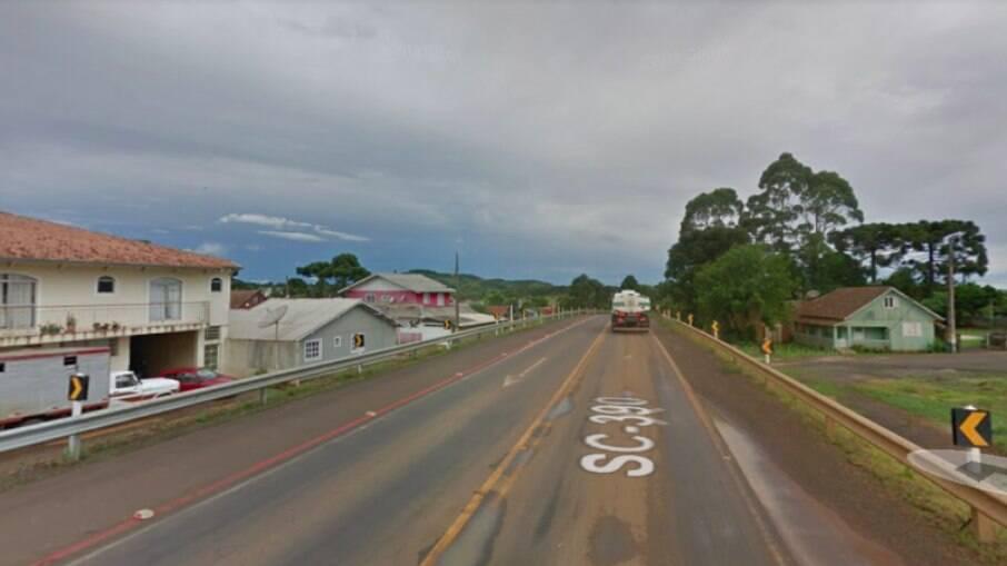 Caso ocorreu no Centro de Capão Alto, na Serra de SC