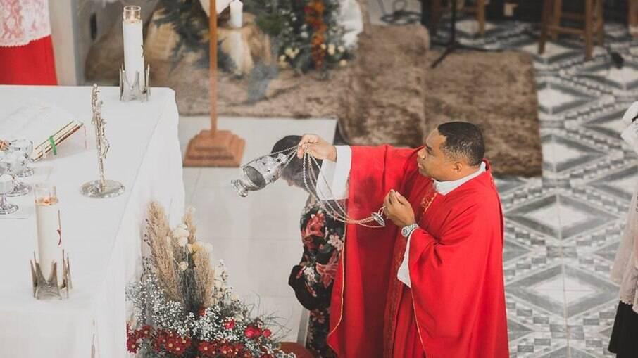 Padre Delson Zacarias dos Santos, acusado de pedofilia