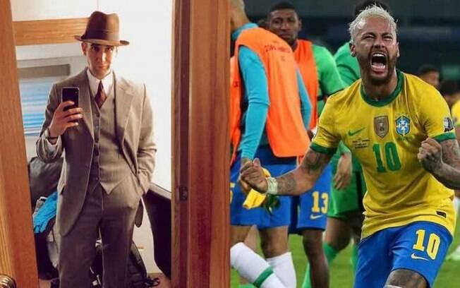 Ator e Neymar
