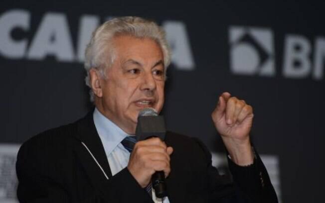 O petista Arlindo Chinaglia: principal adversário de Cunha, ele presidiu a Casa de 2007 a 2009