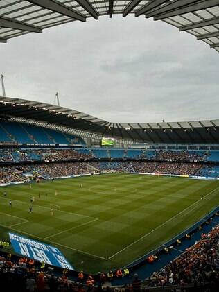 Estádio do Manchester United, na cidade de Manchester
