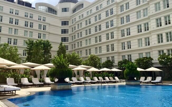 Ficamos hospedados no Park Hyatt Saigon