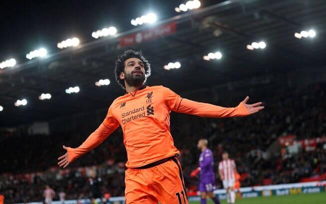 Mohamed Salah é um dos grandes destaques do Liverpool na atual temporada