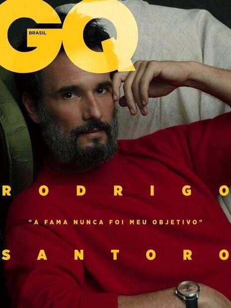 capa da revista gq com rodrigo santoro