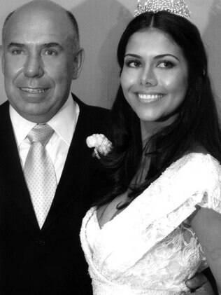 Amilcare e Daniella se casaram em 2006 numa festa para 600 convidados