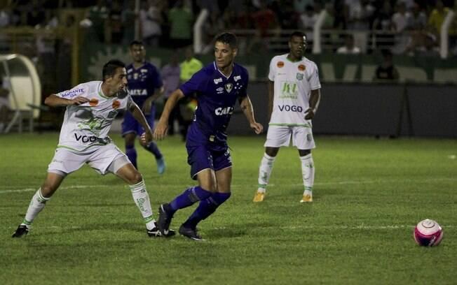 Caldense e Cruzeiro empataram sem gols pelo Mineiro