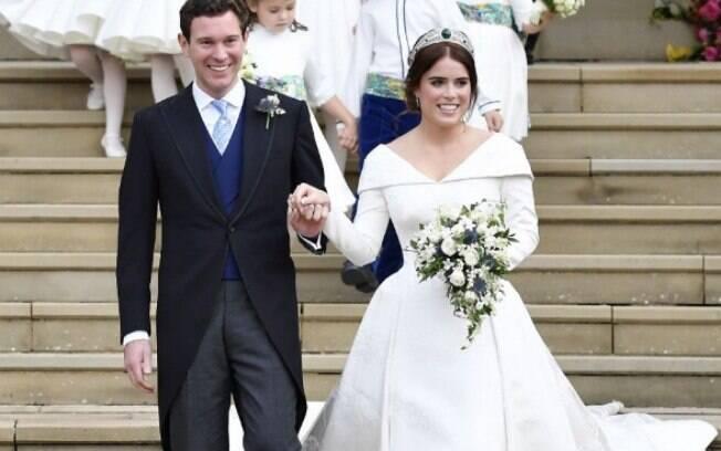 Dieta das famosas: princesa Eugiene, segundo a imprensa local, usou emagrecedores antes do casamento