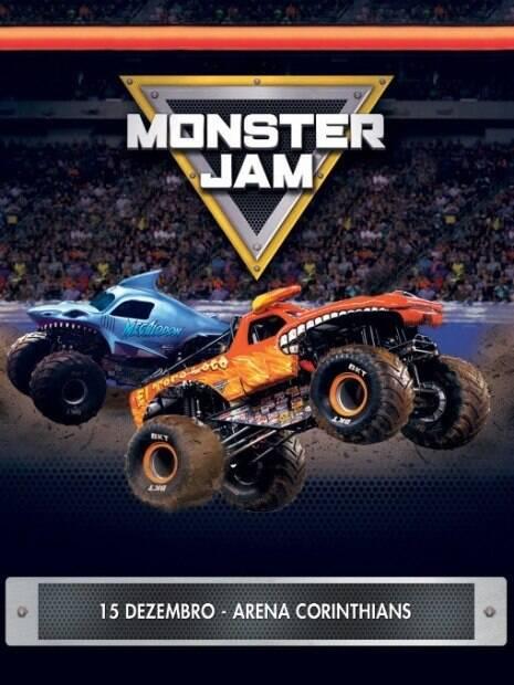 Monster Jam invade a Arena Corinthians mais uma vez