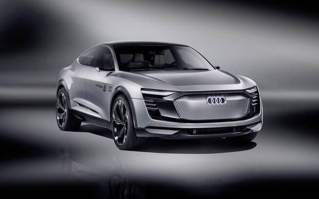 O Elaine está entre os conceitos da Audi que representa a visão da marca para os SUVs do futuro